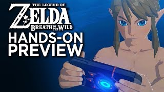 Download Zelda Breath Of The Wild - Hands On With The First 5 Hours Video
