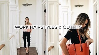Download My Go-To Workday Hairstyles & Outfits | ttsandra Video