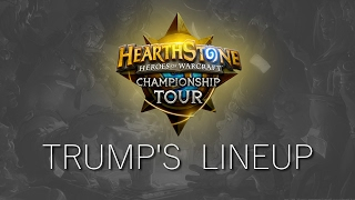 Download Hearthstone: Trump's Championship Lineup Video