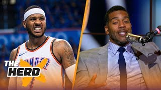Download Jim Jackson on 'Melo being a liability or asset to Rockets, New-look Lakers | NBA | THE HERD Video