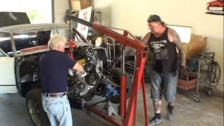 Download LS2 Engine SWAP-Part 3-Installing The Engine and Transmission In The Car Video