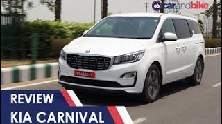 Download Kia Carnival MPV Review | NDTV carandbike Video
