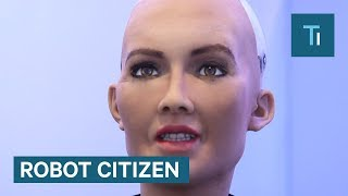 Download Sophia The Humanoid Robot Just Became A 'Robot Citizen' Video