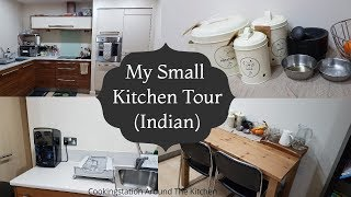 Download My New Kitchen Tour and Organization || Indian Kitchen Tour 2017-Small Kitchen tour-Organize with me Video