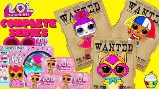 Download Completing LOL Surprise Under Wraps Wave 2 + Biggie Pets Wave 1 & 2 Video