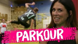 Download Learning PARKOUR?! (Beauty Trippin) Video