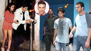 Download Bollywood Celeb Kids CAUGHT Drunk In Public - Sohail Khan Son,Akshay Kumar Son Aarav,Saif Son Video