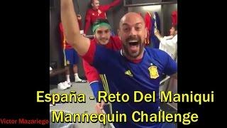Download Selección de España Haciendo El Reto Del Maniquí - Mannequin Challenge Video