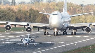 Download BOEING 747 vs. CESSNA Citation - GET OUT OF MY WAY (4K) Video