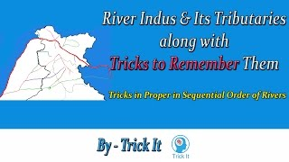 Download Indus and It's Tributaries along with Trick to Remember Video