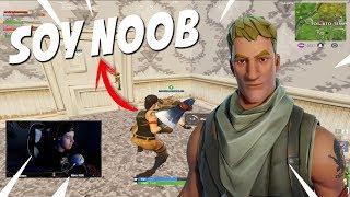 Download Me hago pasar por noob en Squad random - FORTNITE Video