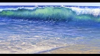 Download How to Paint Water On A Beach - Mural Joe Video