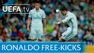 Download Cristiano Ronaldo: 5 great free-kicks Video