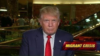 Download Trump on Refugee Crisis: 'I'd Love to Help, But We Have Our Own Problems' Video