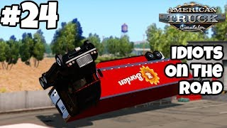 Download American Truck Simulator Multiplayer: Idiots on the Road   Random & Funny Moments   #24 Video