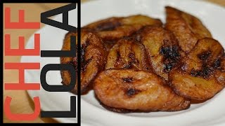 Download How To Fry Bananas - Chef Lola's Kitchen Video