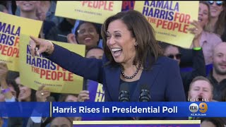 Download Presidential Candidate Kamala Harris Makes Large Gain In CNN Poll Video