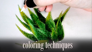 Download Coloring tips with Polychromos ● Blending with baby oil Video