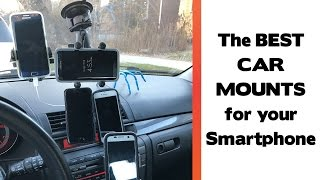 Download The Best Place To Mount Your Smartphone In Your Car? Car Mount Review 2017 Video