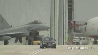 Download Royal Air Force Typhoons Steep climb on takeoff. Video