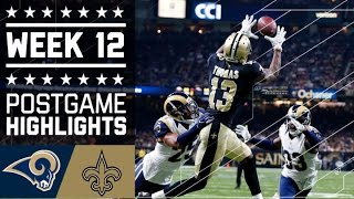 Download Rams vs. Saints | NFL Week 12 Game Highlights Video