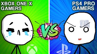 Download PS4 Pro Gamers VS XBOX ONE X Gamers Video
