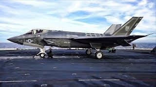 Download F-35C Strike Fighters Launch & Land Aboard USS Carl Vinson Video