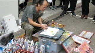 Download Amazing Street Artist - Taipei, Taiwan Video