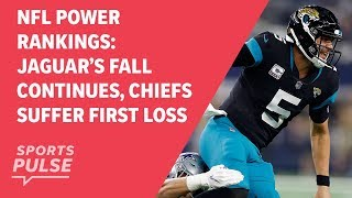 Download NFL power rankings: Jaguar's fall continues, Chiefs suffer first loss Video