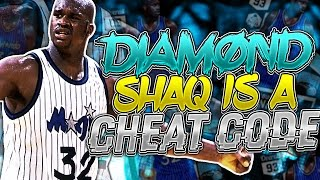 Download DIAMOND SHAQ IS A CHEAT CODE! YOU CANT STOP HIM! NBA 2K17 MYTEAM ONLINE GOD SQUAD GAMEPLAY Video