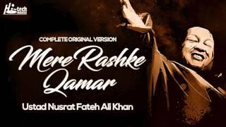 Download MERE RASHKE QAMAR (Original Complete Version) - USTAD NUSRAT FATEH ALI KHAN - OFFICIAL VIDEO Video