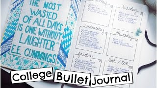 Download How I Use my Bullet Journal for College! Video