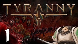 Download Tyranny PC cRPG - Character Creation - Part 1 Let's Play Tyranny Video