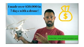 Download How I made $50,000 in less than 7 days with a drone (not taking real estate pics) Video