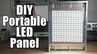 Download DIY Portable LED Panel (Part 1) - the mechanical build Video