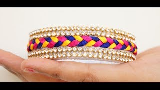 Download Silk Thread Braid Bangle(Eng Sub) Video