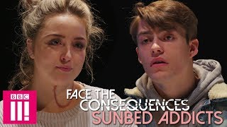 Download Facing The Consequences Of Being A Sunbed Addict Video