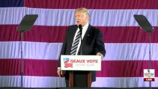 Download Full Speech: President-Elect Trump Rally for John Kennedy in Baton Rouge 12/9/16 Video