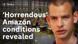 Download Ex-Amazon workers talk of 'horrendous' conditions Video