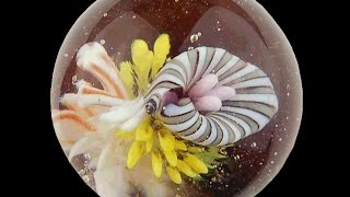 Download Making an Implosion Marble in Soft Glass Video