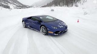 Download The ultimate ice driving experience: Lamborghini Winter Accademia Video