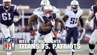 Download Titans vs. Patriots | Week 15 Highlights | NFL Video