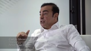 Download Renault Nissan Alliance CEO Carlos Ghosn Talks about The Future of The Auto Industry Video