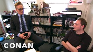 Download Conan Gives Staff Performance Reviews - CONAN on TBS Video