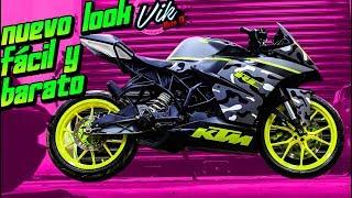 Download Como pintar rines de moto fácil y barato 100% efectivo Pintura removible Video