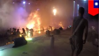 Download Burned alive: New video from Taiwan's deadly Formosa Water Park fire - TomoNews Video