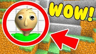 Download WE FOUND BALDI'S BASICS SECRET BASE IN MINECRAFT PE! (Ps3/Xbox360/PS4/XboxOne/PE/MCPE) Video