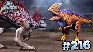 Download MAXED RAJASTEGA FIGHTS INDOMINUS!!!    Jurassic World - The Game - Ep216 HD Video