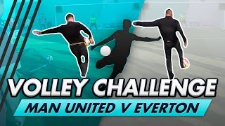 Download Volley Challenge LIVE | Man United vs Everton fans, ft. Olly Murs & Leon Osman Video