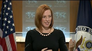 Download Journalist Can't Contain Laughter As State Dept Claims US Doesn't Back Coups Video